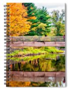 Ole Bull State Park Paint Spiral Notebook