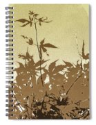 Olive And Brown Haiku Spiral Notebook