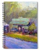 Olive Market Festival Spiral Notebook