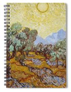 Olive Trees Spiral Notebook