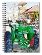 Oliver 60 Tractor In Dell Spiral Notebook