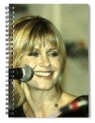 Olivia Newton John Spiral Notebook