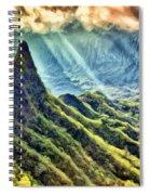 Olomana And The Koolau Range Spiral Notebook