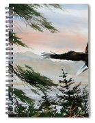 Olympic Coast Eagle Spiral Notebook