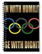 Olympic Spirit Spiral Notebook