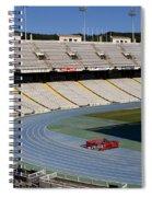 Olympic Stadium Barcelona Spiral Notebook