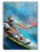 Olympics Rowing 01 Spiral Notebook