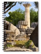 Olympus Ruins Spiral Notebook