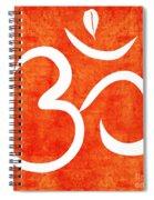 Om Spice Spiral Notebook
