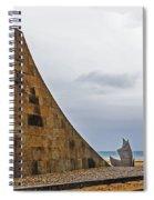 Omaha Beach Memorial Spiral Notebook