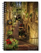 Omaha's Old Market Passageway Spiral Notebook