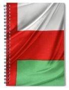 Oman Flag Spiral Notebook