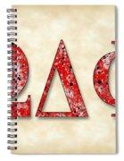 Omega Delta Phi - Parchment Spiral Notebook