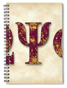 Omega Psi Phi - Parchment Spiral Notebook