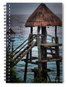 On 2 -ready-hut Hut Spiral Notebook