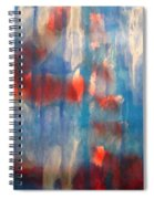 On A Clear Day - Red Forever Spiral Notebook