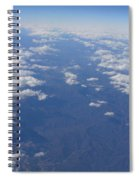 On A Clear Day You Can See Miles Away Spiral Notebook