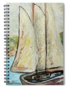 On A Cloudy Day - Impressionist Art Spiral Notebook
