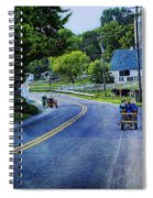 On A Country Road - Lancaster - Pennsylvania Spiral Notebook
