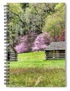 On A Hill At Valley Forge Spiral Notebook