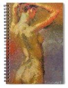 On A Hot Summer Day Spiral Notebook