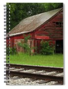 On A Tennessee Back Road Spiral Notebook