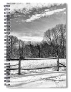 On A Winters Day Spiral Notebook