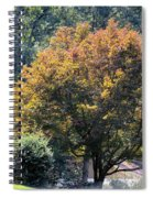 On An Autumn's Afternoon Spiral Notebook