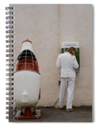 Painter On Call Spiral Notebook