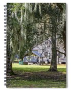 On Destrehan Plantation Spiral Notebook