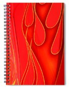 On Fire Spiral Notebook