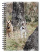 On Guard - Featured In Comfortable Art Group Spiral Notebook