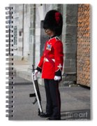 On Guard Quebec City Spiral Notebook