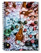 On Ice Spiral Notebook