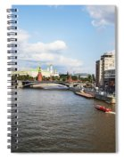 On Moscow River - Russia Spiral Notebook