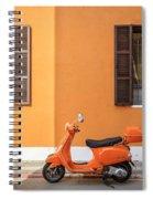 On Orange Street Spiral Notebook