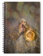 On Stage The Trumpeter Spiral Notebook