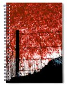 On The Abyss Spiral Notebook