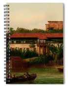 On The Banks Of The River Spiral Notebook