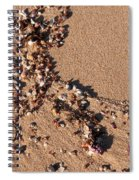 On The Beach 01 Spiral Notebook