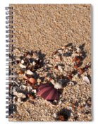 On The Beach 02 Spiral Notebook