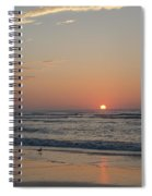 On The Beach At Sunrise - Wildwood New Jersey Spiral Notebook