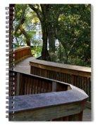 On The Boardwalk Spiral Notebook