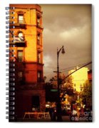 On The Boulevard Spiral Notebook
