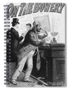 On The Bowery, 1894 Spiral Notebook