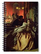 On The Brink, 1865 Spiral Notebook