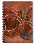 On The Bubble Spiral Notebook
