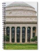 On The Campus Of Mit - Cambridge Massachusetts Spiral Notebook
