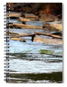 On The Creek Spiral Notebook