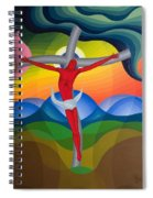 On The Cross Spiral Notebook